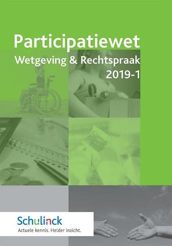 Participatiewet Wetgeving & Rechtspraak 2019-1