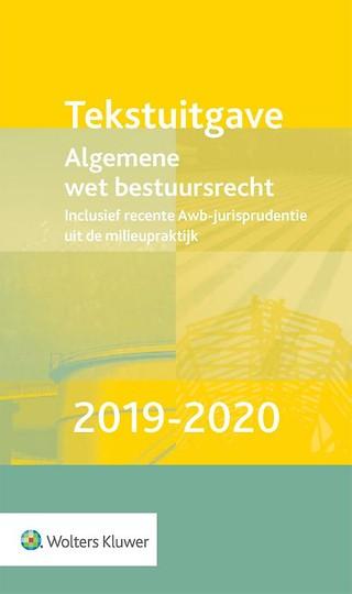 Tekstuitgave Algemene wet bestuursrecht 2019-2020