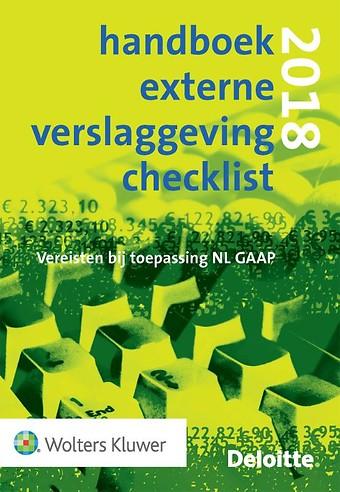 Handboek Externe Verslaggeving Checklist 2018