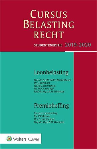 Studenteneditie Cursus Belastingrecht Loonbelasting/Premieheffing 2019-2020