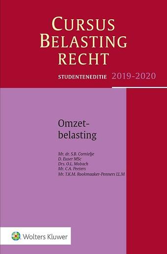 Studenteneditie Cursus Belastingrecht, Omzetbelasting 2019-2020