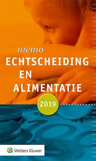 Memo Echtscheiding en alimentatie 2019