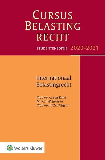 Studenteneditie Cursus Belastingrecht Internationaal Belastingrecht 2020-2021