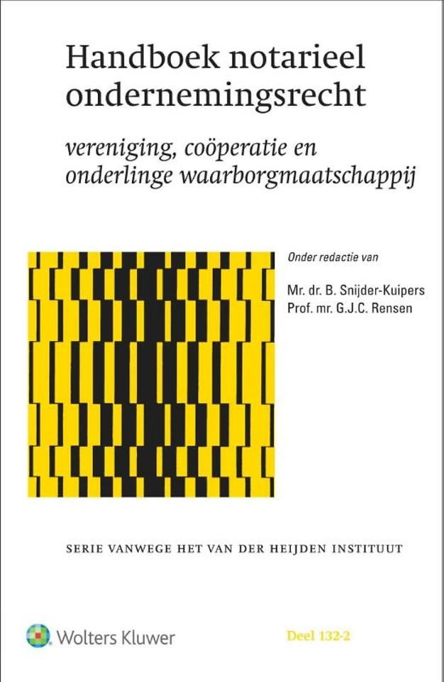 Handboek notarieel ondernemingsrecht
