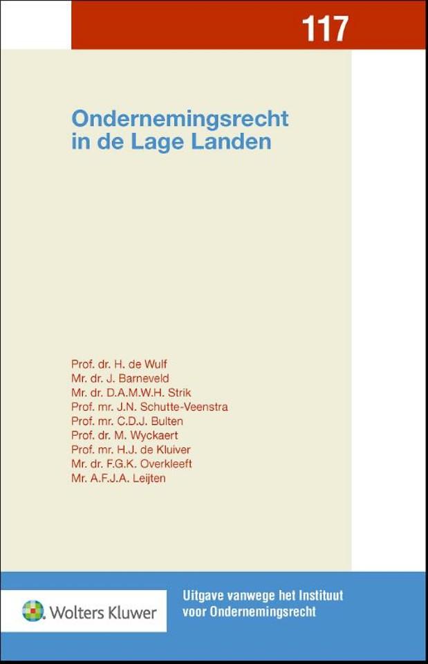 Ondernemingsrecht in de Lage Landen