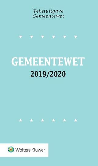 Tekstuitgave Gemeentewet 2019-2020