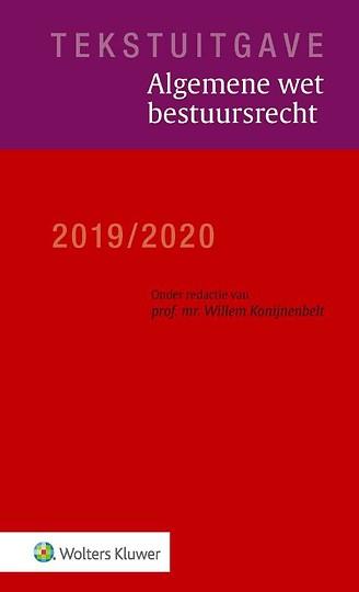 Tekstuitgave Algemene wet bestuursrecht 2019/2020