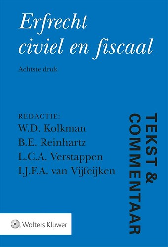 Tekst & Commentaar Erfrecht civiel en fiscaal