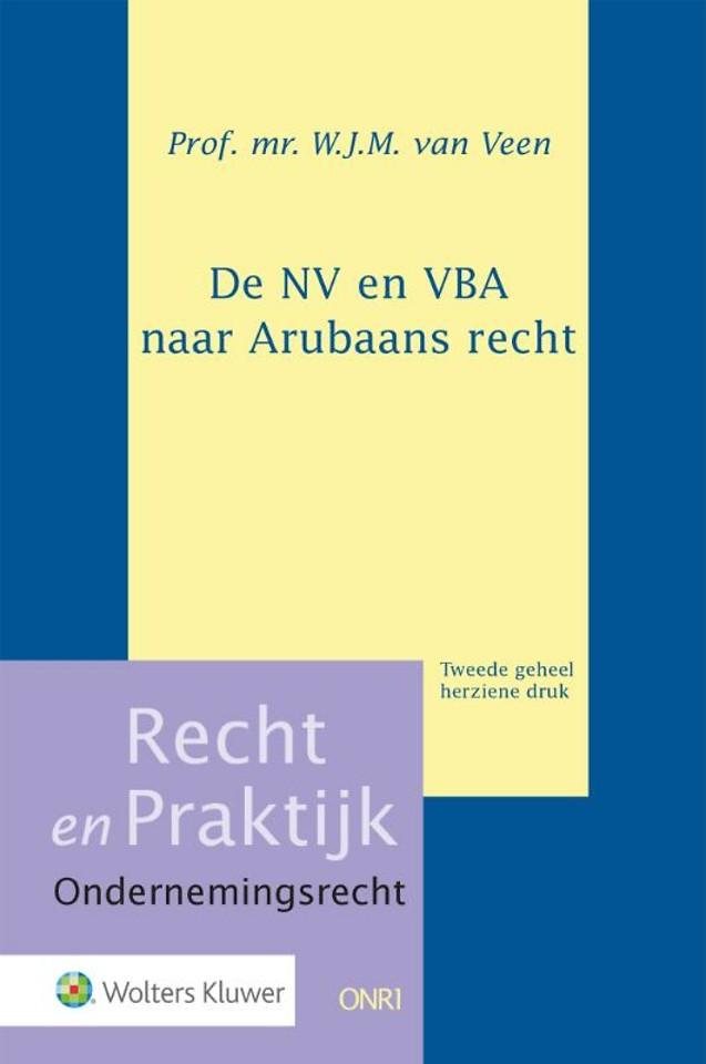 De NV en VBA naar Arubaans recht