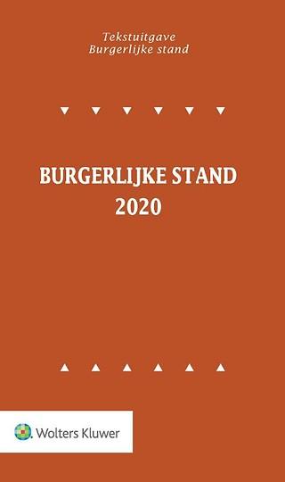 Tekstuitgave Burgerlijke stand 2020