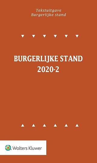 Tekstuitgave Burgerlijke stand 2020-2