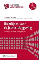 Richtlijnen voor de Jaarverslaggeving voor micro- en kleine rechtspersonen 2020