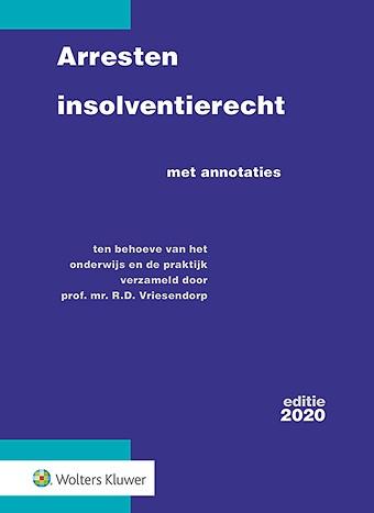 Arresten insolventierecht - editie 2020