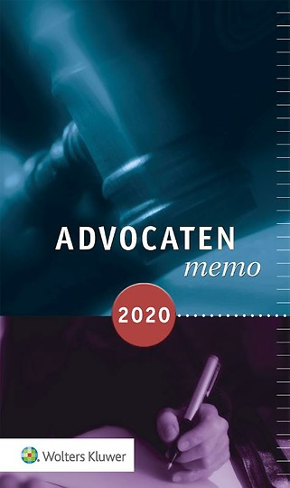 Advocatenmemo 2020