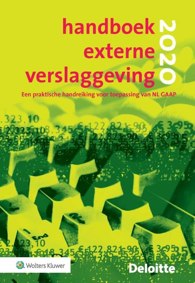 Handboek Externe Verslaggeving 2020