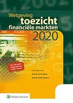 Wetgeving toezicht financiële markten 2020