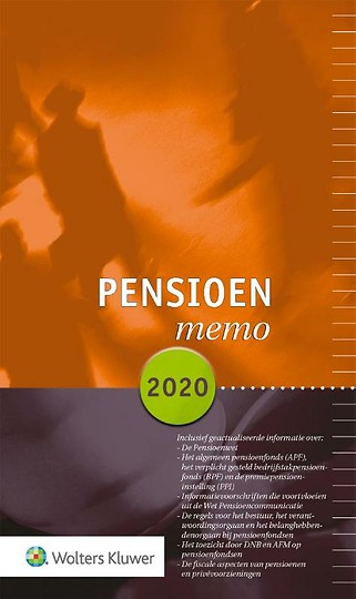 Pensioenmemo 2020