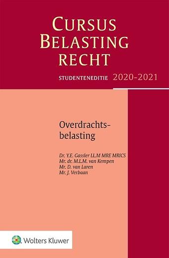 Studenteneditie Cursus Belastingrecht Overdrachtsbelasting 2020-2021
