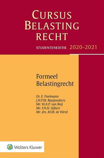 Studenteneditie Cursus Belastingrecht, Formeel Belastingrecht 2020-2021