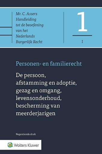 Asser 1-I De persoon, afstamming en adoptie, gezag en omgang, levensonderhoud, bescherming van meerderjarigen