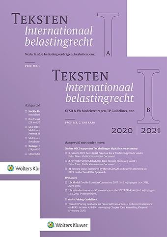 Teksten Internationaal belastingrecht 2020/2021