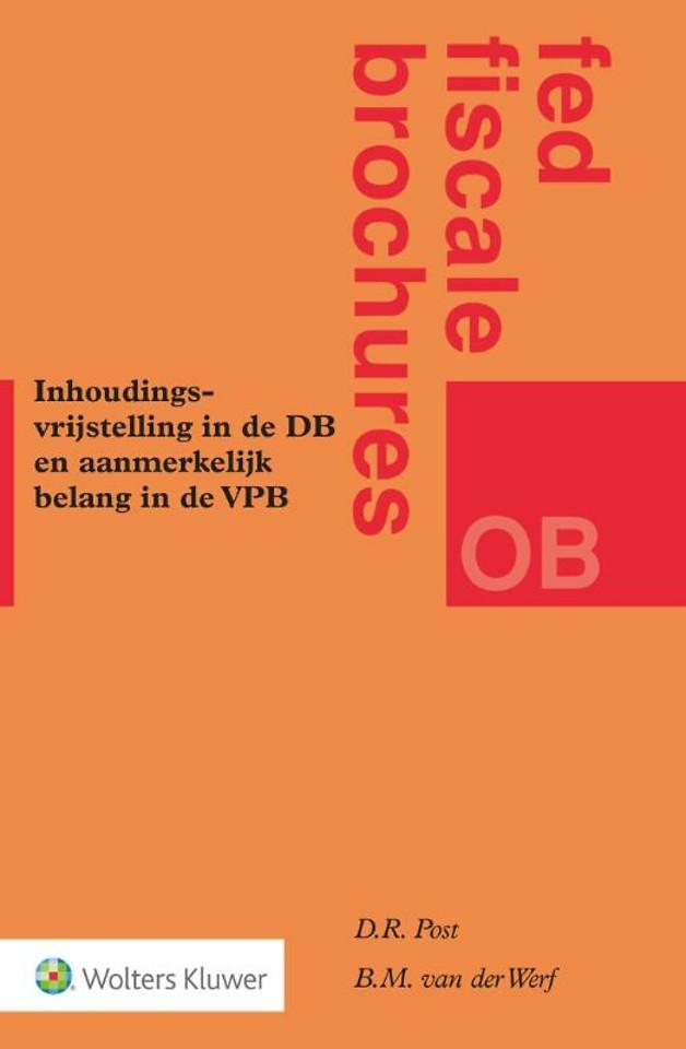 Inhoudingsvrijstelling in DB en aanmerkelijk belang in VPB