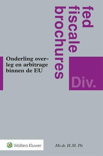 Onderling overleg en arbitrage binnen de EU