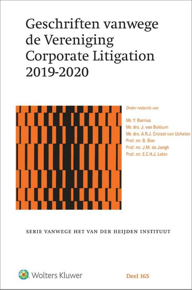 Geschriften vanwege de Vereniging Corporate Litigation 2019-2020