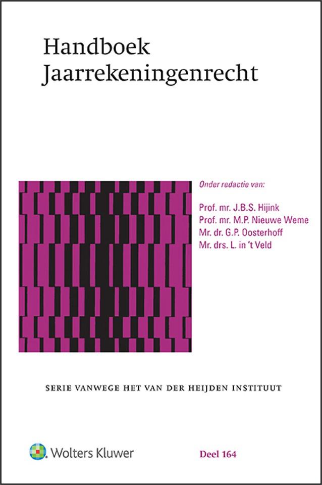 Handboek Jaarrekeningenrecht