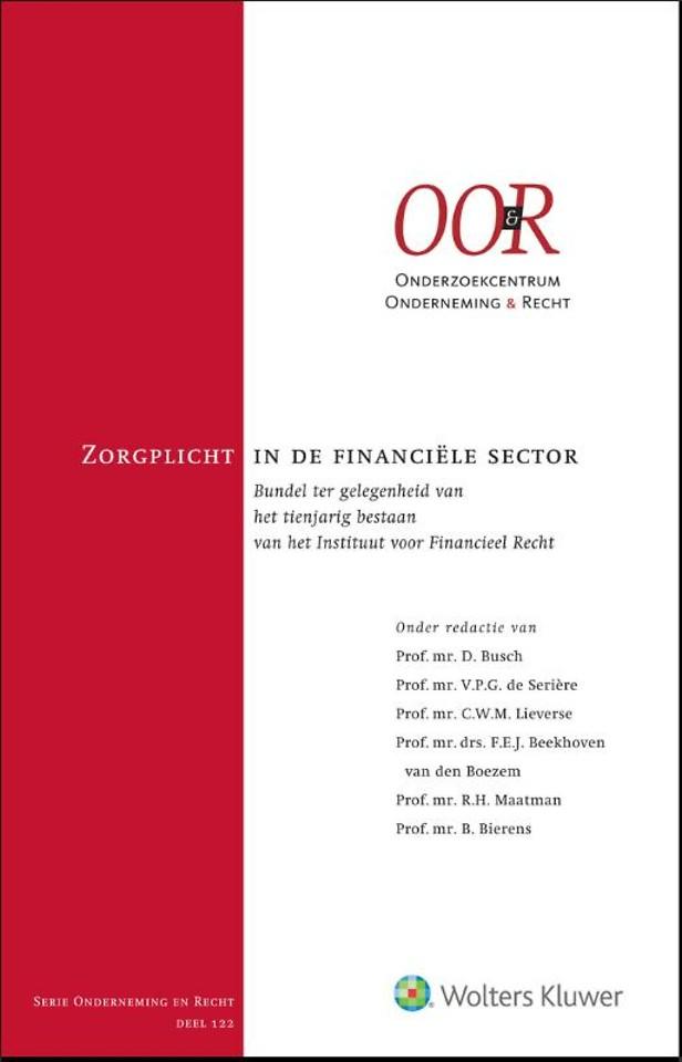 Zorgplicht in de financiële sector