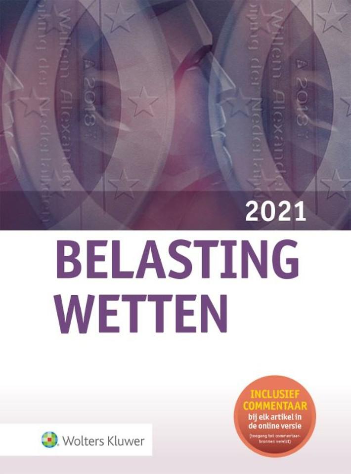 Belastingwetten - luxe-editie 2021