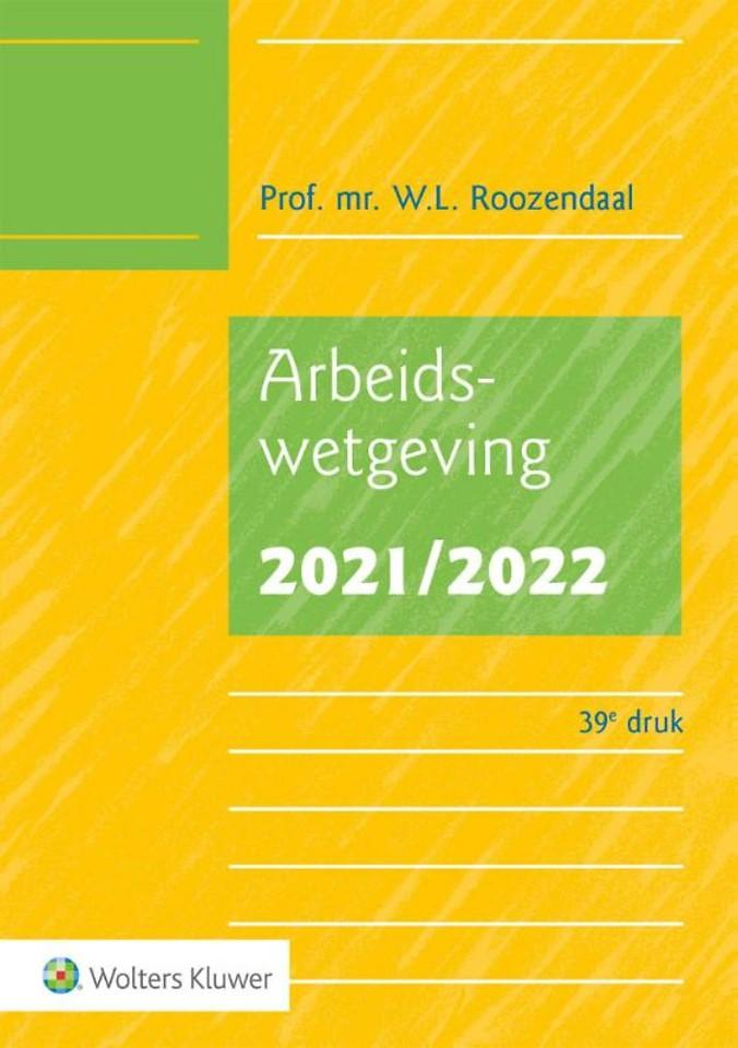 Arbeidswetgeving 2021/2022