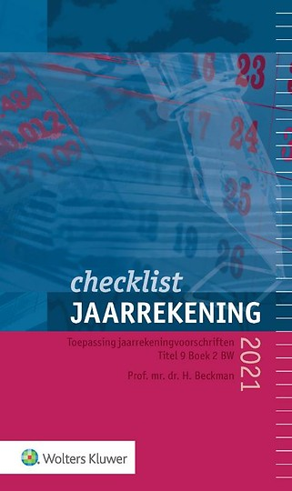 Checklist Jaarrekening 2021