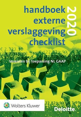 Handboek Externe Verslaggeving Checklist 2020