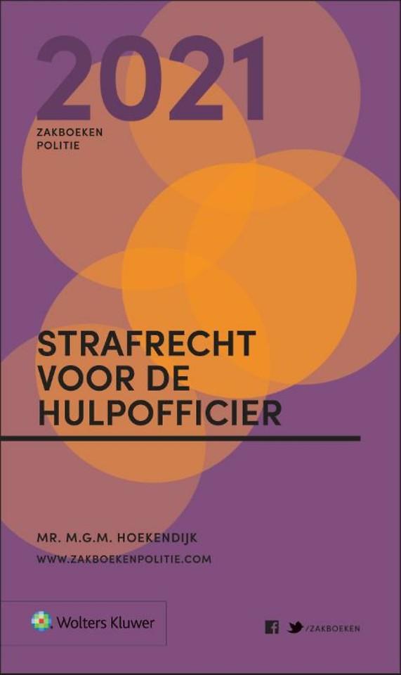 Zakboek Strafrecht voor de Hulpofficier 2021