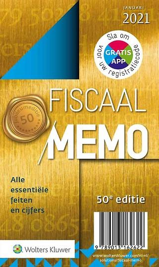 Fiscaal Memo januari 2021