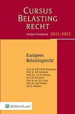 Studenteneditie Cursus Belastingrecht Europees belastingrecht 2021-2022