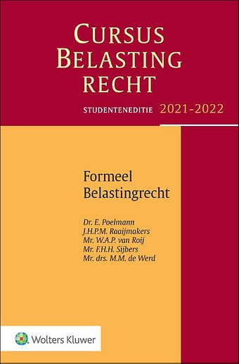 Studenteneditie Cursus Belastingrecht, Formeel Belastingrecht 2021-2022