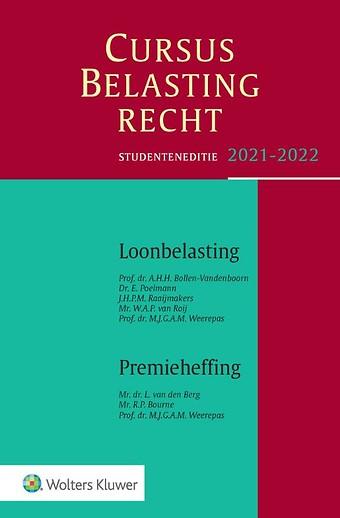 Studenteneditie Cursus Belastingrecht Loonbelasting/Premieheffing 2021-2022