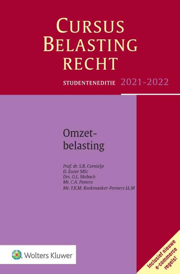 Studenteneditie Cursus Belastingrecht Omzetbelasting 2021-2022