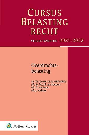 Studenteneditie Cursus Belastingrecht Overdrachtsbelasting 2021-2022