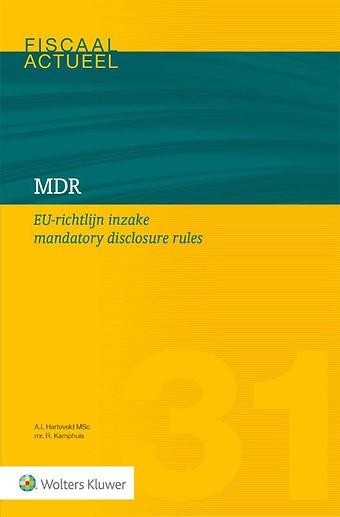 MDR - EU-richtlijn inzake mandatory disclosure rules