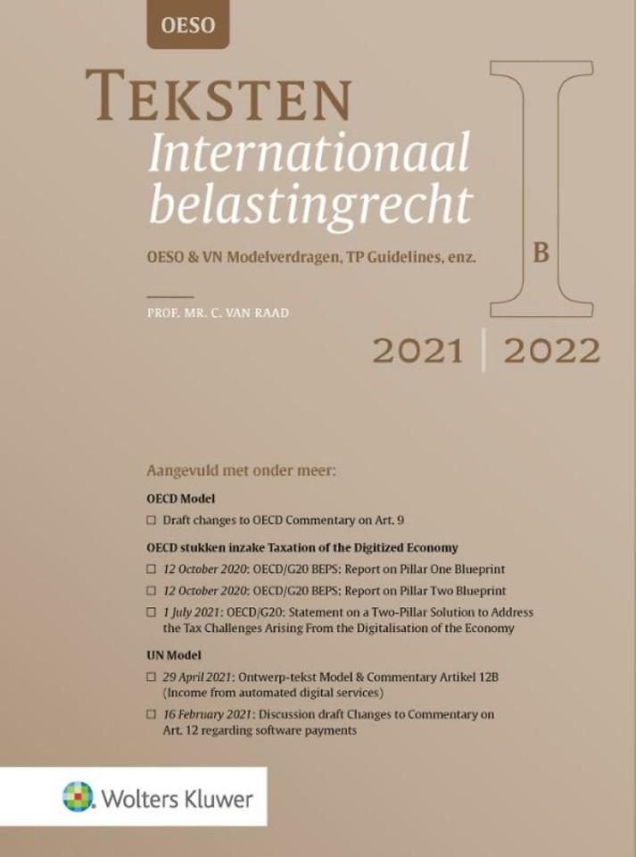 Teksten Internationaal belastingrecht 2021/2022