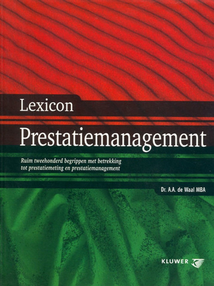 Lexicon prestatiemanagement