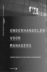 Onderhandelen voor managers