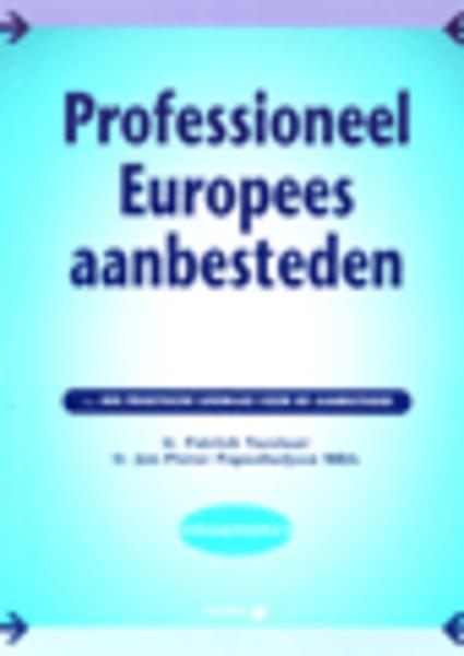 Professioneel Europees Aanbesteden Door Patrick Tazelaar Jan Pieter