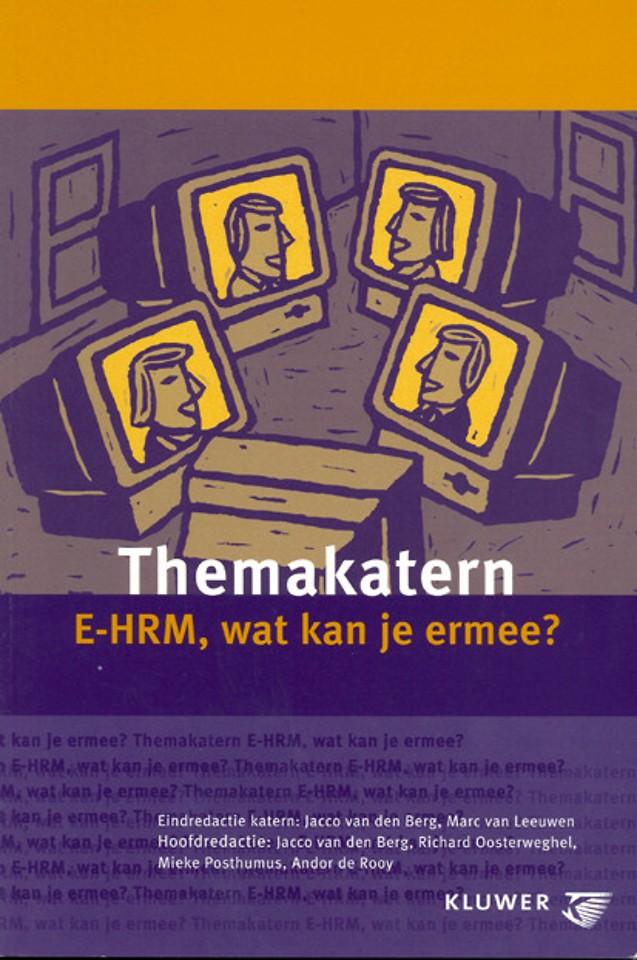 Themakatern: E-HRM, wat kan je ermee?