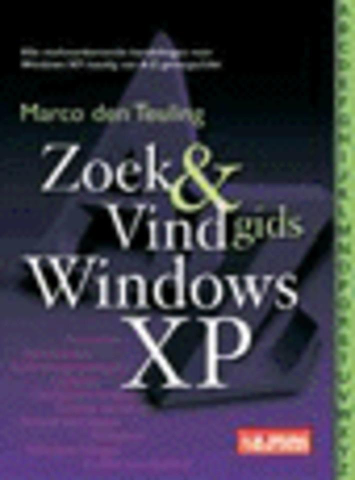 Zoeken en Vindgids Windows XP