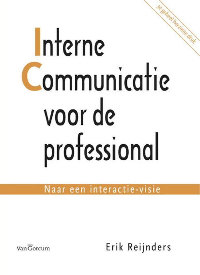 Interne communicatie voor de professional - 3e herziene editie