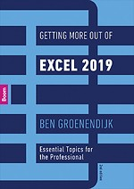 Getting More Out of Excel 2019